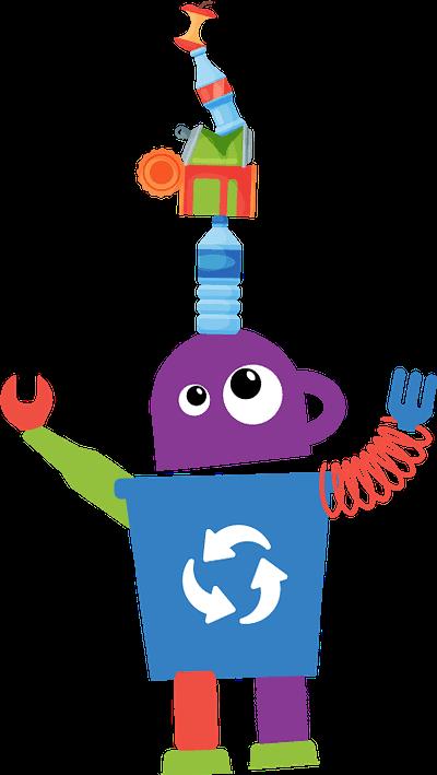 Waste Wise Kids Jeff the Robot