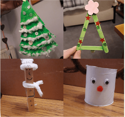 Reduce waste this Christmas with festive fun repurposing ideas